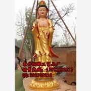 供应东升铜雕124铜观音佛像-铜佛像厂家-铜雕佛像