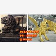 供应东升铜雕124铜狮子厂家-铜狮子报价-铜雕狮子