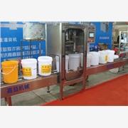 供应济南嘉益JIAY-20L润滑油灌装机-双头全自动称重灌装机-机油、防冻液