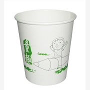 供应盈洁纸杯厂 7安士中号乐趣纸杯定做