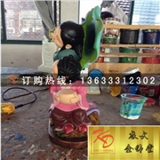 供应玻璃钢和合二仙,玻璃钢雕塑,玻璃钢佛像