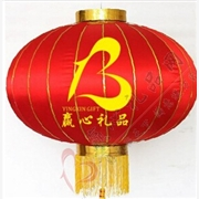 郑州厂家直销企业定制广告灯笼企业宣传大口绸布广告灯笼可定制