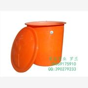 郴州300升带盖塑料桶 广口食品腌制圆桶