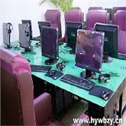 成都专业网吧桌椅,认准红扬家具公司:广安网吧桌