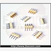 供应富上电子RGB灯条连接器LED灯条连接线插头