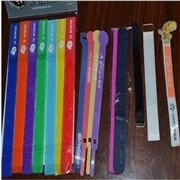 供应三信粘扣带绑带 印刷LOGO绑带 魔术贴扎带