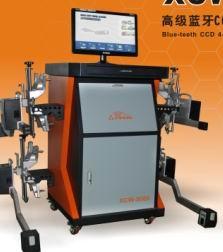 大车蓝牙CCD四轮定位仪新品.