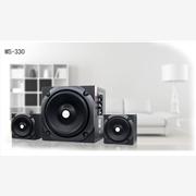 供��Homesound�]�音MS-330�]��徜N6.5寸超重低音炮有源音