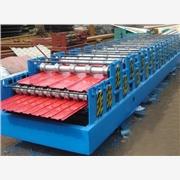 供应840/900双层彩钢压瓦机