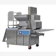 SXCB600-V牛肉饼成型机,上面包屑机,上浆机