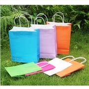 创意礼品白卡纸质袋 童装服装手提袋定做 保健品广告礼品纸袋订做