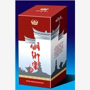 供应明伟纸塑包装009酒盒礼品包装盒 酒水包装盒