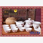 供应景德镇陶瓷茶具 馈赠礼品陶瓷茶具