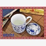 供应辰天陶瓷陶瓷杯子 会议陶瓷茶杯