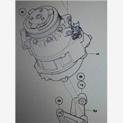 供应宝马X5冷气泵