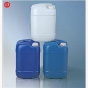 供应惠阳三栋20公斤化工桶,塑胶方罐,中兰色塑料桶
