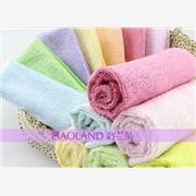 供应好兰朵多型号竹纤维毛巾缎档提花面巾方巾