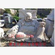 大型寺庙石雕观音佛像 汉白玉佛像石雕  石雕弥勒佛像