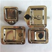 供应304不锈钢盒锁 T型锁 面板锁 方锁 防水防漏 加密封垫圈