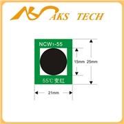 供应NCW55°C、65°C、75°C可逆温度标签
