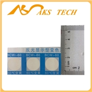 供应温记录标签,高温不可逆温度标签, 反光型温度标签