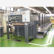二手海德堡五色胶印机进口代理