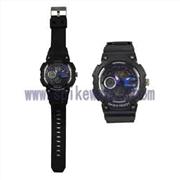 供应时尚多功能双时手表款式新颖