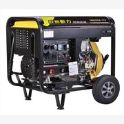 供应190A柴油发电机带电焊机
