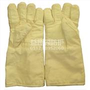 供应苏州劳保用品 E-LA7 特种芳纶混纺表面层 芳纶隔热层 650度耐高温手套