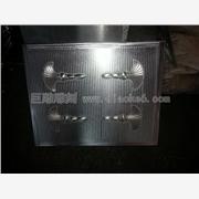 CNC定制加工铜板铝板 佛山雕刻加工金属拉手