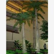 订做仿真酒瓶椰子树 人造椰子树 假椰子树