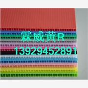 塑料PP中空板 产品汇 天津塑料市场低价耐用结实环保PP中空板垫板 万通板 瓦楞板