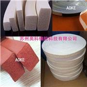 供应AOKE高铁设备硅胶海绵胶带