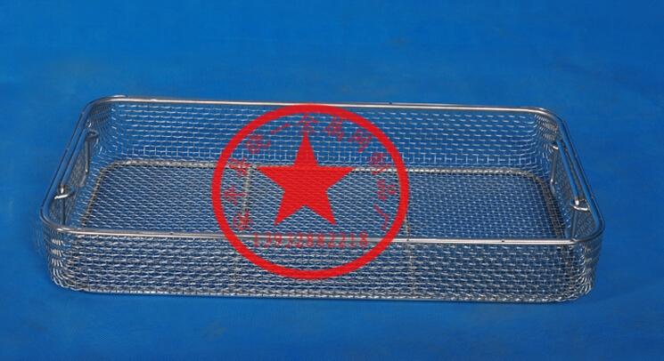 医用消毒筐定做不锈钢网篮消毒器械