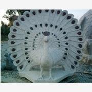 供应石雕孔雀