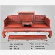 供应军兰红木JL0A-0016玉兰飘香罗汉床-浙江东阳厂家直销-天津家具批发-横