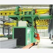 供应青岛泽一机械H型钢抛丸清理机