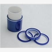 蓝色PCB电镀胶带 蓝色高温硅胶带