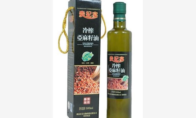 500ml亚麻籽油(单瓶礼盒装)