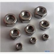 供应鑫桐 GB52白钢螺母|白钢六角螺母|白钢螺帽