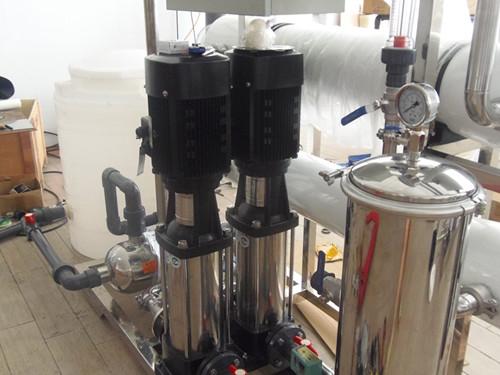 光学镜片清洗用纯水设备