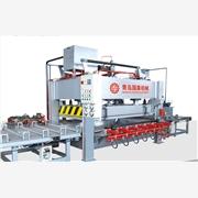 供应青岛国森200吨400吨竹单板机竹板单层热压机