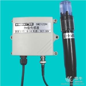 供应SONBESTSM2123M 工业在线式电流型PH值传感器