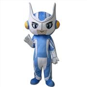 供应超人机器人卡通人偶服装来图定做企业吉祥物婚庆道具搞怪服装
