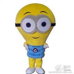 灯泡卡通人偶服装定做企业吉祥物