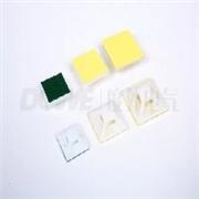 厂家批发走量自粘式定位片 黄 绿胶吸盘定位片规格齐全