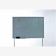 供应华杰80*120重庆厂家定做玻璃白板 玻璃白板支