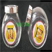 扁鼓瓶玻璃瓶 斜角玻璃瓶