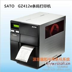 供应SATO佐滕GZ408E/GZ412E条码不干胶标签打印机
