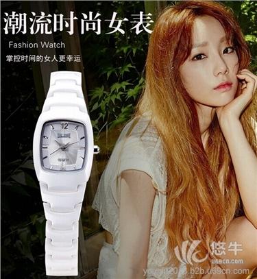 女士腕表防水方形学生时装表
